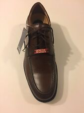 New Men Chaps Dress Shoes Men's Size 8 Brown Lipscomb Leather Sells $90