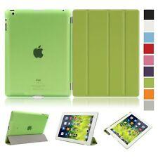 Apple iPad & iPad Mini 1 2 Air 3 inteligente Funda cubierta y parte posterior esmerilado translúcido
