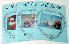 Lot of 3 All Seasons Designs by Rosemary West Tole Painting Projects 1998-2000