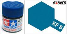 Acrylic Paint - Colore Acrilico 10ml XF-8 XF8 FLAT BLUE 81708 Tamiya New