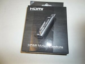 HDMI to USB Video Capture Card 1080P HD Recorder Game Video Live Streaming