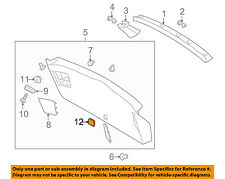SUBARU OEM 10-14 Outback Liftgate Tailgate Hatch-Cap 94067AE20AVH
