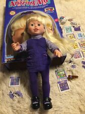 Vintage Amazing Ally Doll Complete w/ All Accessories Working! Original Box