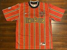 Rare Vintage Nike MLS New York Metrostars Futbol Soccer Jersey Youth L