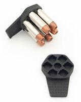Zeta6™ K-CLIP™ Speedloader for 6-Shot 38SP/357 K-frame Size Revolvers  (2 Pack)