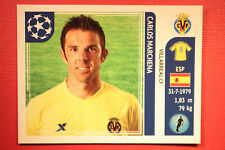 PANINI CHAMPIONS LEAGUE 2011/12 N 27 MARCHENA VILLARREAL WITH BLACK BACK MINT!!