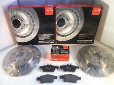 FORD Focus Mk2 Dischi Freno Posteriore E Pastiglie Set 265 mm 2004-2012 * ORIGINALE * APEC OE