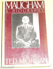 W. Somerset Maugham 1980 Biography by Ted Morgan  Nice SEE!