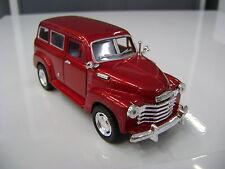 1950 Chevrolet suburban kinsmart modello giocattolo 1/36 scala