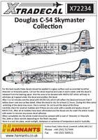 Xtradecal 1/72 Douglas DC-4/C-54 Skymaster # 72234