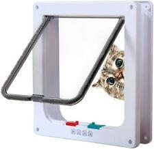 Cat Door with 4 Way Locking, for Interior orExterior Doors