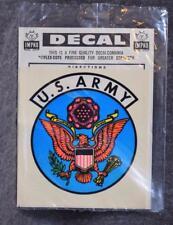 Vintage IMPKO Water Decal U.S. Army Logo NIP MINT