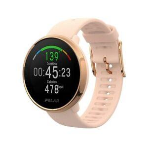 Polar Ignite Pink Rose- S Advanced Water-Proof GPS Multisport Watch