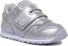 New Balance 373 Infants Synthetic Trainers In Silver Size UK 5 - 12