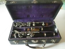 Vintage PAN AMERICAN Elkhart Ind Clarinet w/Olympian Mouthpiece