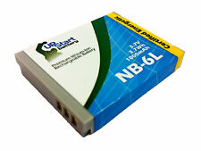 Battery for Canon NB-6L PowerShot SD3500 SD1300 SD980