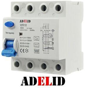 FI Fehlerstromschutzschalter RCD Typ B  40A 63A Wallbox E-Auto Allstromsensitiv