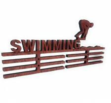 en Bois Médaille Support,Crochet,Affichage Gymnastique Gymnaste Sport