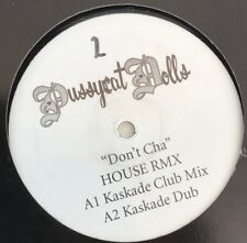 "Pussycat Dolls Don't Cha - Kaskade Ralphi Rosario Funky House Vinyl Record 12"""