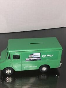 "Ertl Startribune Delivery Truck Die Cast Bank Grumman Olson Route Star 6.5"" Long"