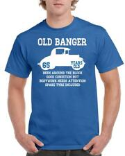 21st 30th 40th 50th 60th 70th 80th Funny Birthday Gift T-Shirt Old Banger Car