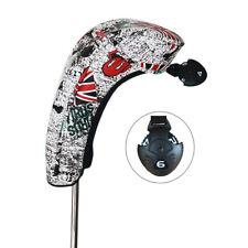 Craftsman Union Jack Golf Hybrid Club Head Cover For Titleist Mizuno Taylormade