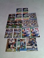 *****Jeff Campbell*****  Lot of 17 cards.....8 DIFFERENT / Football