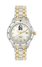 855003 COLLINGWOOD MAGPIES AFL TEAM LADIES 2 TONE SPECIAL EDITION WATCH