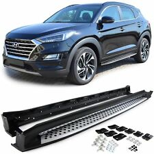 Aluminum running boards side steps kit for Hyundai Tucson TLE from 15