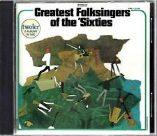 Greatest Folksingers of the Sixties / Various Artists- CD (1990)