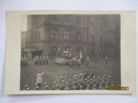 Deutsche Soldaten mit Pickelhaube, General, Truppenbesuch Fotokarte  (66011)