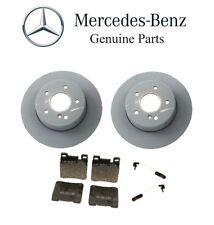 Mercedes W210 E320 Wagon Brake Disc Rotors with Brake Pads and Sensors Kit OES