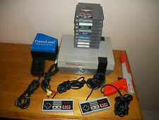Nintendo NES System Bundle 10 games Mike Tyson Punch New 72 Pin Free Shipping