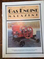 Gas Engine Magazine Novemeber 1993 Allis-Chamber All Crop Combine