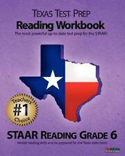 Texas Test Prep Reading Workbook, STAAR Reading Grade 6
