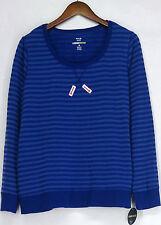 Style&co. Women's Cotton Blend Long Sleeve Sleeve Sweatshirt, Crew Sweats & Hoodies