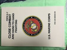 USMC CLOSE COMBAT AND HAND TO HAND FIGHTING MANUAL