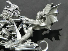 Dragon Sculpture Statue Art Figurine Figure Erotic Woman Warrior Biker Fantasy