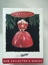 Hallmark 1993 Happy Holidays Barbie #1 Series BV $95