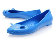 MARC BY MARC JACOBS BLUE JELLY MOUSE LOVE I BALLET SHOES FLATS 38 5 £130!