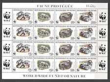 Stamps Nice Benin 1040-1048 Sheetlet Mint Never Hinged Mnh 1998 Prehistoric Animals Benin
