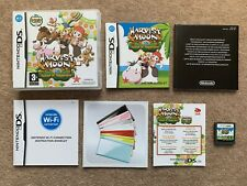 Harvest Moon Island Of Happiness Nintendo DS Complete 100% Genuine