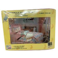 VTG Beatrix Potter Peter Rabbit Twin Sheet Set Cannon Royal Family 1987 NOS NEW