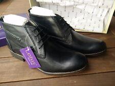 Lotus Shoes 1759 Schwarz Leder EUR 41 UK 7 Lederschuhe Boots Stiefel