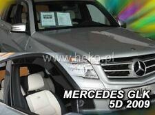 2 Deflettori Aria Antiturbo Mercedes-Benz GLK X204 2008 in poi 5 porte