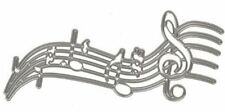 Music notes & stave metal die - for use in most cutting systems!