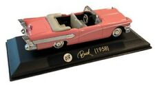 NewRay 1958 Pink Convertible Buick V Eight Century Die Cast Diecast Car in Case