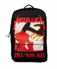 "METALLICA ""KILL EM ALL LARGE LOGO"" ROCKSAX RUCKSACK / BACKPACK SKATE BAG - NEW"