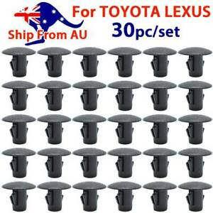 30X Splash Guard Seals Clips For TOYOTA Shield Liners Apron Grommet Screw Fender