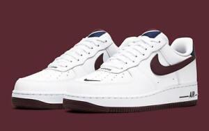 Nike Air Force 1 '07 LV8 4 men's shoes size 18 white/maroon-obsidian CJ8731100